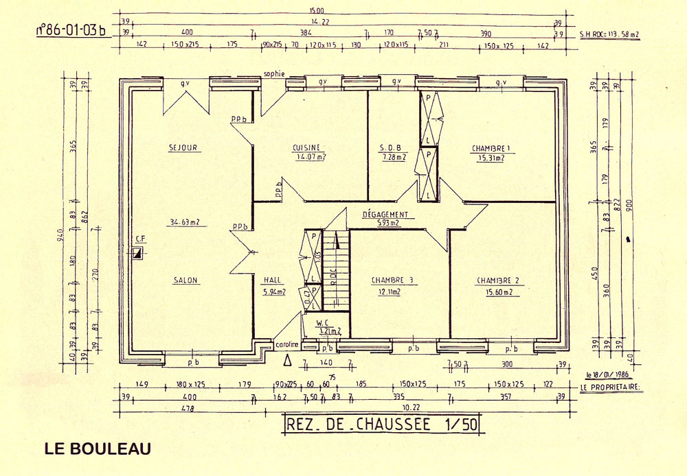 Plan des maison for Plans de maison
